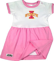Iowa State Cyclones Baby Onesie Dress - Pink