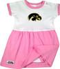 Iowa Hawkeyes Baby Onesie Dress - Pink