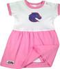 Boise State Broncos Onesie Baby Dress - Pink