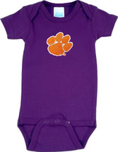 Clemson Tigers Baby Onesie