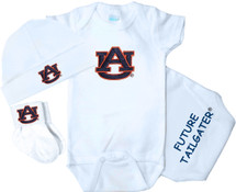 Auburn Tigers Homecoming 3 Piece Baby Gift Set