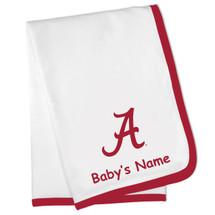 Alabama Crimson Tide Personalized Baby Blanket