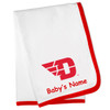Dayton Flyers Personalized Baby Blanket
