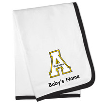 Appalachian State Mountaineers Personalized Baby Blanket