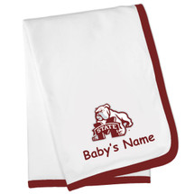 Mississippi State Bulldogs Personalized Baby Blanket