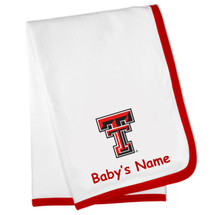 Texas Tech Red Raiders Personalized Baby Blanket