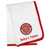 Louisiana Ragin Cajuns Personalized Baby Blanket