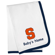 Syracuse Orange Personalized Baby Blanket