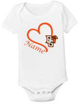Bowling Green St. Falcons Personalized Baby Onesie