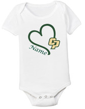 Cal Poly Mustangs Personalized Baby Onesie