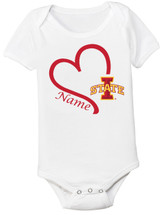 Iowa State Cyclones Personalized Baby Onesie
