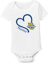 Marquette Golden Eagles Personalized Baby Onesie