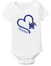 Memphis Tigers Personalized Baby Onesie