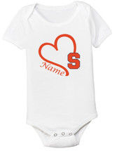 Syracuse Orange Personalized Baby Onesie