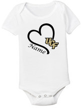 UCF Knights Personalized Baby Onesie