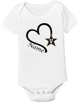 Vanderbilt Commodores Personalized Baby Onesie