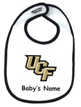 UCF Knights Personalized 2 Ply Baby Bib