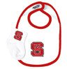 NC State Wolfpack Bib and Socks Baby Set