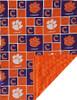 Clemson Tigers Baby/Toddler Minky Blanket
