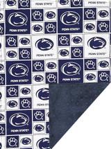 Penn State Nittany Lions Baby/Toddler Minky Blanket