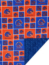 Boise State Broncos Baby/Toddler Minky Blanket
