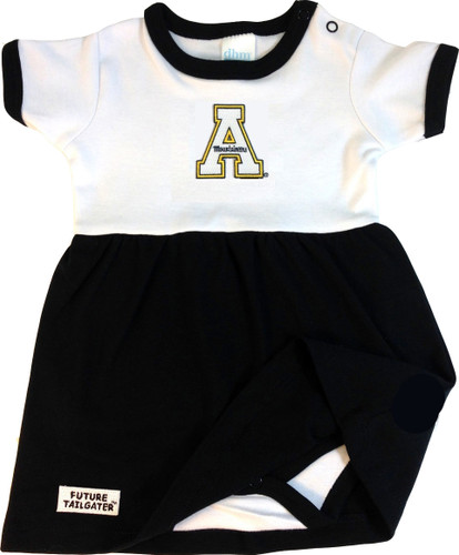 Appalachian State Mountaineers Baby Onesie Dress