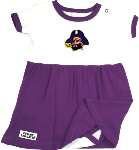 East Carolina Pirates Baby Onesie Dress