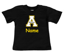 Appalachian State Mountaineers Personalized Team Color Baby/Toddler T-Shirt