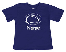 Penn State Nittany Lions Personalized Team Color Baby/Toddler T-Shirt