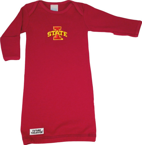 Iowa State Cyclones Baby Layette Gown