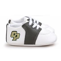 Cal Poly Mustangs Pre-Walker Baby Shoes - Black Trim