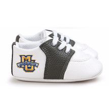 Marquette Golden Eagles Pre-Walker Baby Shoes - Black Trim