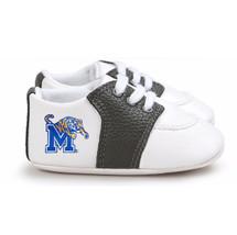 Memphis Tigers Pre-Walker Baby Shoes - Black Trim