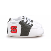 NC State Wolfpack Pre-Walker Baby Shoes - Black Trim