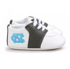 North Carolina Tar Heels Pre-Walker Baby Shoes - Black Trim
