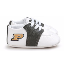 Purdue Boilermakers Pre-Walker Baby Shoes - Black Trim