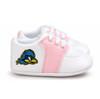 Delaware Blue Hens Pre-Walker Baby Shoes - Pink Trim