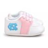 North Carolina Tar Heels Pre-Walker Baby Shoes - Pink Trim