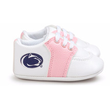 Penn State Nittany Lions Pre-Walker Baby Shoes - Pink Trim