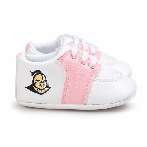 UCF Knights Pre-Walker Baby Shoes - Pink Trim