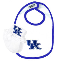 Kentucky Wildcats Baby Bib and Socks Set