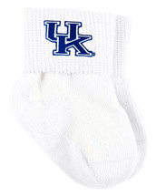 Kentucky Wildcats Baby Sock Booties