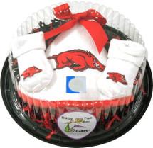 Arkansas Razorbacks Piece of Cake Baby Gift Set