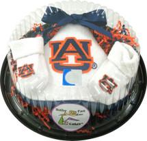 Auburn Tigers Piece of Cake Baby Gift Set