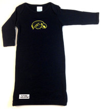 Iowa Hawkeyes Baby Layette Gown