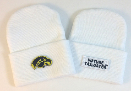 Iowa Hawkeyes Newborn Knit Cap