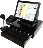 Point of Sale All in One POS Terminal with MPOS Software Choices.