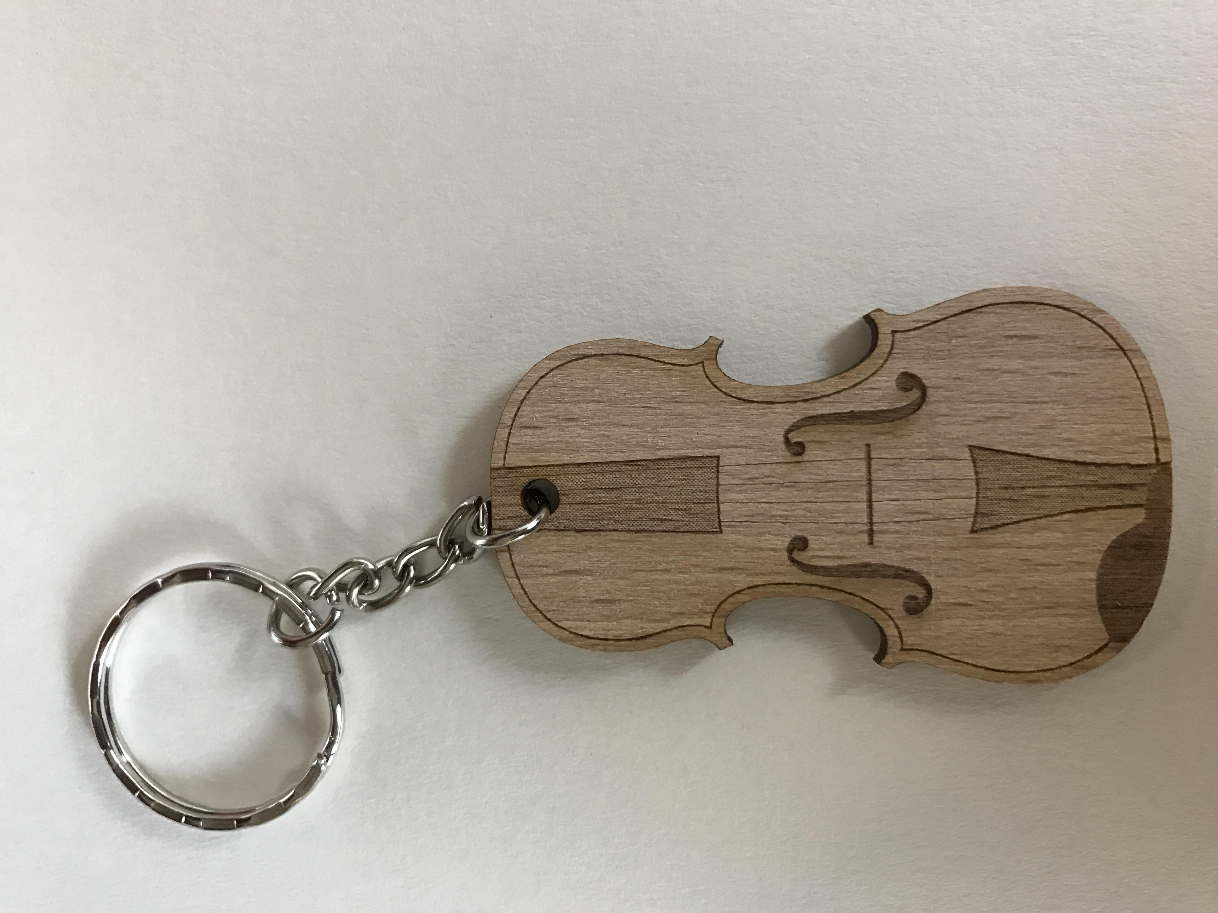 Violin Keychain 1