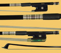 M1-BCF Maestro Braided Carbon Fiber Round Cello Bow