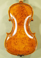 Unique Gliga Maestro Violin, Bird's Eye Wood, Rice Grain Carving, Gliga Signature Sunflower Scroll - Guarneri Design - Code C6987V